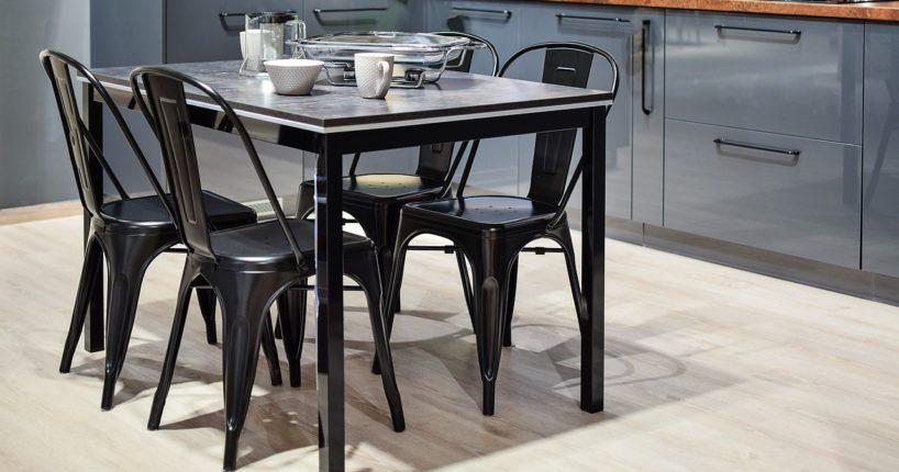Jak dopasować krzesła kuchenne do aranżacji? Krzesła tapicerowane, drewniane czy metalowe?